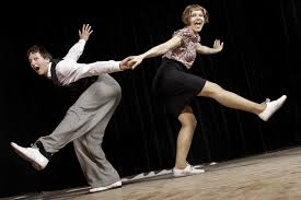 Lindy Hop dancing is so much fun...and great exercise!