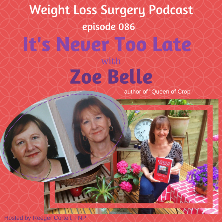 Weight Loss Surgery Podcast with Zoe Belle